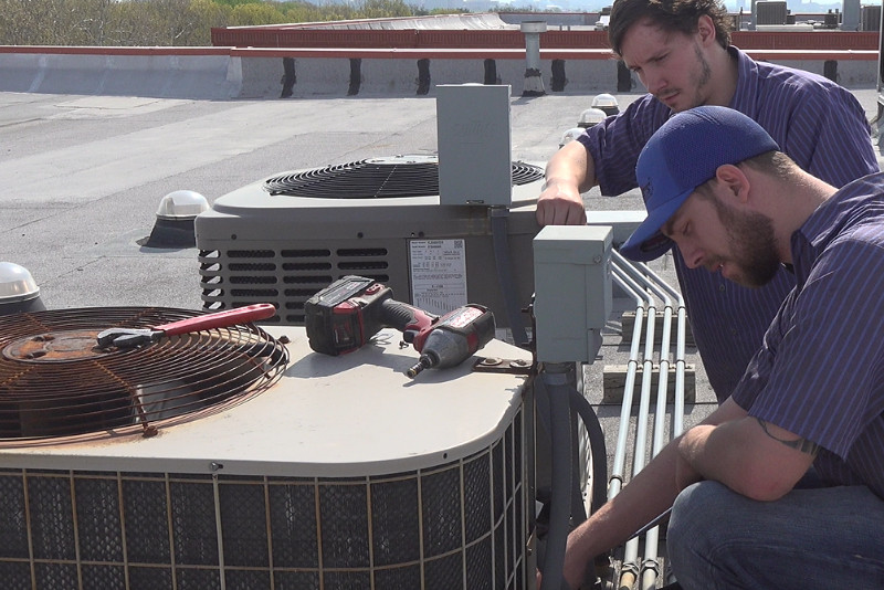 commercial heating and cooling st louis