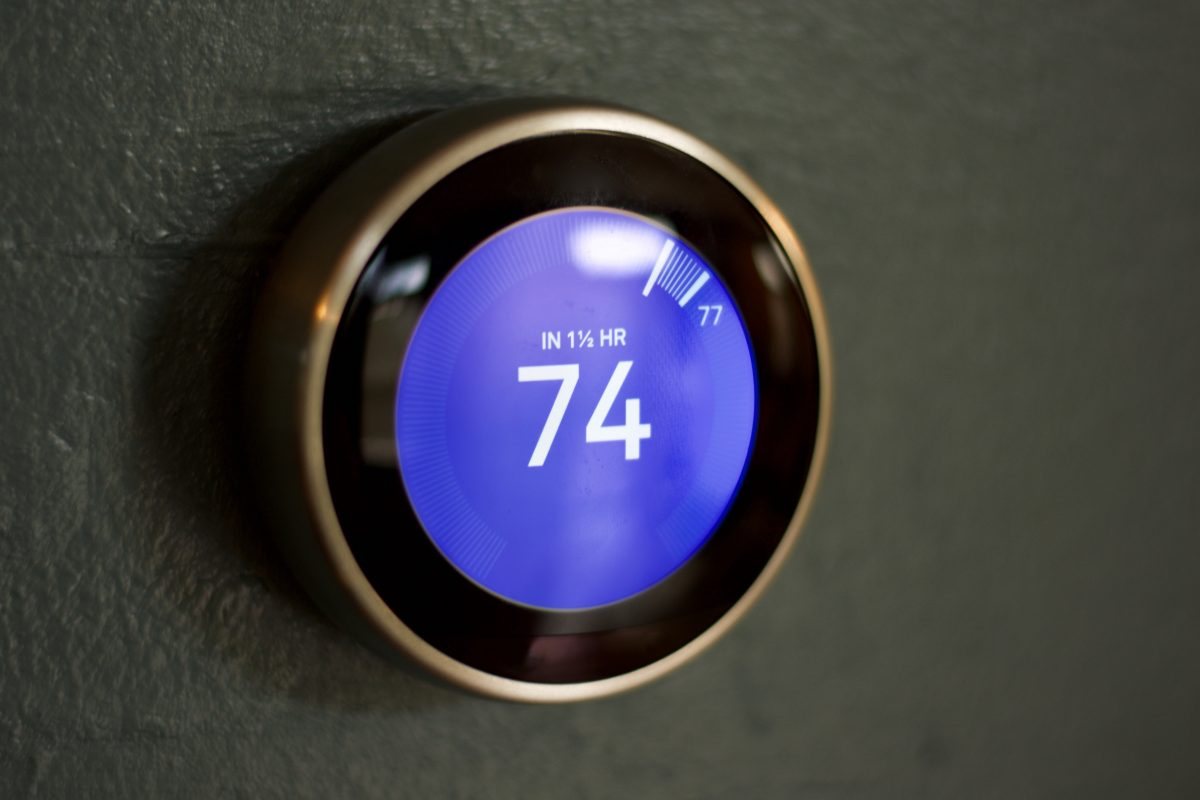 hvac smart thermostat in st louis home