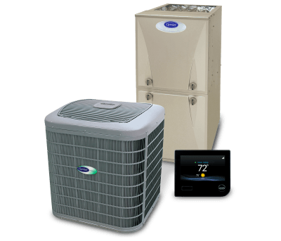 carrier infinity heating and air conditioning system